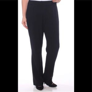 Tahari Arthur S. Levine Black Boot Cut Pants